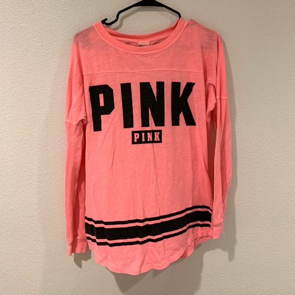 PINK Victoria's Secret Tops - Long sleeve T-shirt with open back